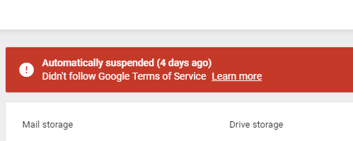 Google Account Auto Suspension Takes Out Local Business